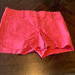 Coral colored size 12 shorts by Ann Taylor